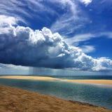 Солнечность или дождь стоковая фотография rf