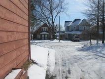 Солнечность на снеге Стоковое фото RF