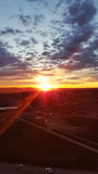 Солнечность Krasnoyarsk Стоковая Фотография