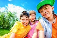 Солнечные дети Стоковое Фото