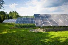 Солнечные коллекторы Стоковое Изображение RF