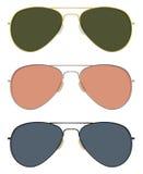 Солнечные очки авиатора Стоковое Фото
