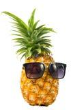 Солнечные очки ананаса нося Стоковые Изображения RF