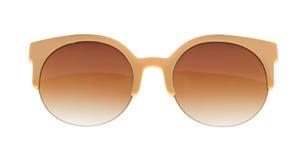 Солнечные очки девушки очарования Стоковая Фотография