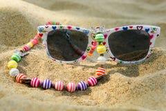 солнечные очки детей s Стоковые Изображения RF