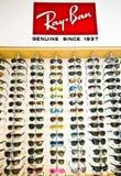 Солнечные очки запрета Рэй Стоковое фото RF