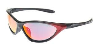Солнечные очки изолированные на белизне стоковые фото