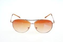 Солнечные очки изолированные на белизне стоковое изображение rf