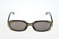 Солнечные очки изолированные на белизне стоковая фотография rf