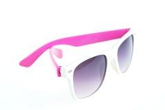 Солнечные очки изолированные на белизне стоковое фото rf