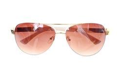 солнечные очки изолированные предпосылкой белые стоковые изображения