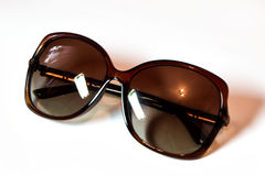 Солнечные очки изолировали белую предпосылку Стоковое фото RF