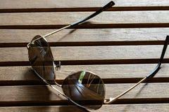 Солнечные очки полиции Стоковое фото RF