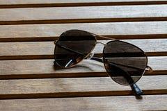 Солнечные очки полиции Стоковое Фото