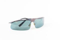 солнечные очки предпосылки белые Стоковое Изображение