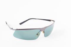 солнечные очки предпосылки белые Стоковое Изображение RF