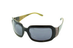 солнечные очки предпосылки белые Стоковое фото RF