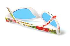 Солнечные очки пластмассы партии Стоковые Фотографии RF