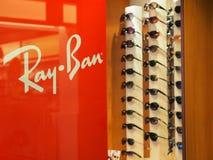 Солнечные очки Рэй-запрета стоковые фотографии rf