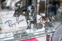 Солнечные очки Рэй-запрета стоковая фотография