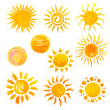 солнечные очки солнца икон конструкции ваши Стоковая Фотография RF