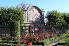Солнечные часы в Саде принцев, Groningen, Голландии Стоковое Фото
