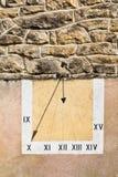 Солнечные часы стоковое изображение
