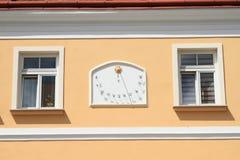 Солнечные часы стоковая фотография rf