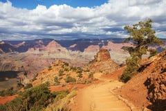 Солнечный гранд-каньон Стоковое Фото