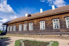 Солнечный день внутри может в имуществе Trigorskoye Запас-музей Mikhailovskoye Стоковое фото RF