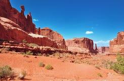 Ландшафт в каньоне сводов Стоковое фото RF
