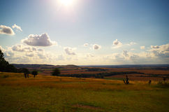 Солнечный день в Bedfordshire Стоковая Фотография