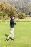 Солнечный день гольфа Стоковое фото RF