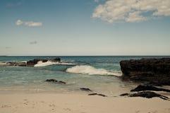Солнечный день на пляже Стоковое фото RF