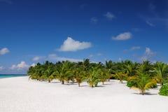 Солнечный день на пляже Стоковые Фотографии RF