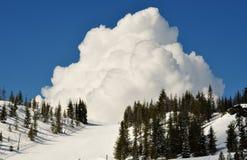 Лыжный курорт Hoodoo Стоковая Фотография RF