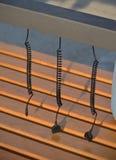 Солнечный заряжатель для мобильного телефона Стоковая Фотография RF