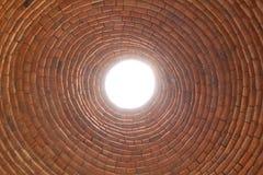 Солнечный круг газохода канала Стоковое Фото