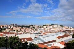 Солнечный Лиссабон Стоковые Фотографии RF