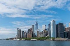 Солнечный Нью-Йорк Стоковая Фотография