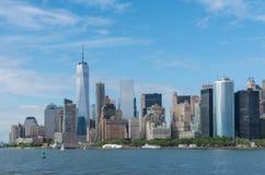 Солнечный Нью-Йорк Стоковые Изображения RF