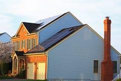 Солнечный дом стоковое фото rf