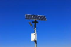 Солнечный поляк лампы стоковые изображения