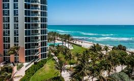 Солнечный пляж островов, Флорида Стоковое Изображение