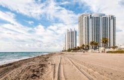 Солнечный пляж островов, Флорида Стоковая Фотография