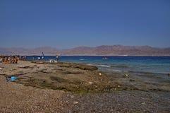 Солнечный пляж Стоковое Изображение