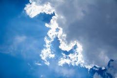 Солнечный свет в воздухе Стоковое Изображение RF