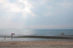 Солнечный свет и море стоковое изображение