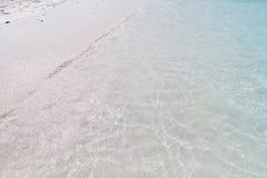Солнечный свет отражает на поверхности моря Стоковая Фотография