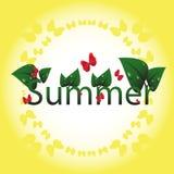 Солнечный стиль Стоковое Изображение